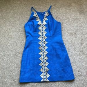 Lilly Pulitzer Pearl Lapis Blue Dress